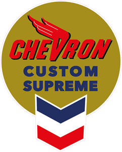 Chevron Custom Supreme Logo Vector
