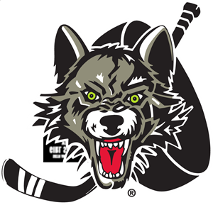 Chicago Wolves Logo Vector