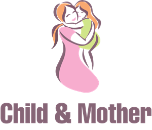 Child Care and Mother Day Logo Vector