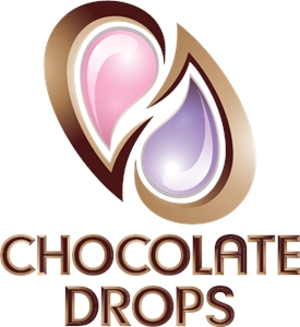 Chocolate Drops Logo Vector