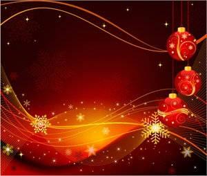 christmas ball background Logo Vector