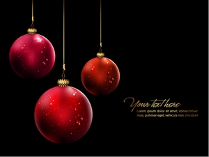 christmas ball hanging crystal style Logo Vector