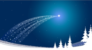 christmas star Logo Vector