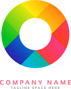 Circular in full color Logo Vector