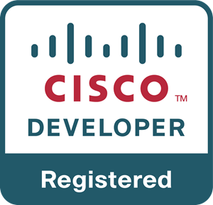 Cisco Developer Registered Logo Vector