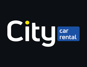 City Car Rental Logo Vector