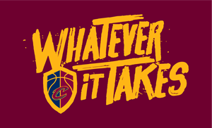 Cleveland Cavaliers Whatever it Takes Logo Vector