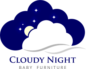 Cloudy night Logo Vector