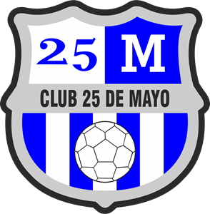 Club 25 de Mayo Logo Vector
