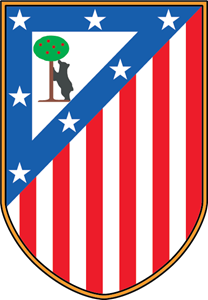 Club Atletico De Madrid 70's Logo Vector