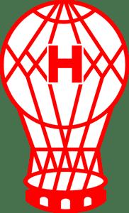 club atl tico hurac n logo vector eps free download. Black Bedroom Furniture Sets. Home Design Ideas