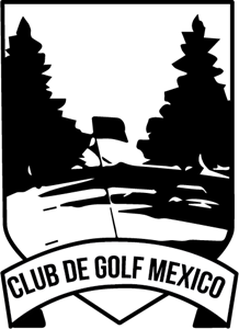 Club de Golf México Logo Vector