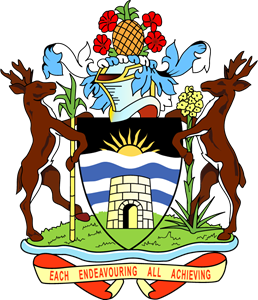 Coat of arms of Antigua and Barbuda Logo Vector