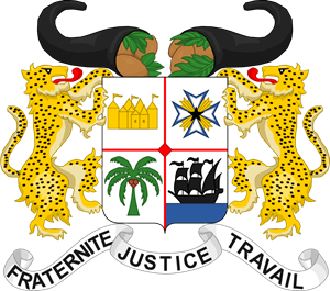 Coat of arms of Benin Logo Vector