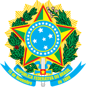 Coat of arms of Brazil Logo Vector