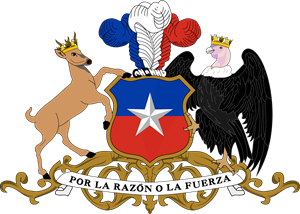 Coat of arms of Chile Logo Vector