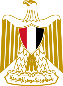 Coat of arms of Egypt Logo Vector