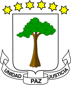 Coat of arms of Equatorial Guinea Logo Vector
