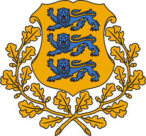 Coat of arms of Estonia Logo Vector
