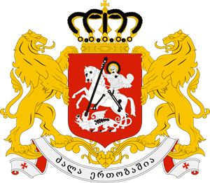 COAT OF ARMS OF GEORGIA Logo Vector