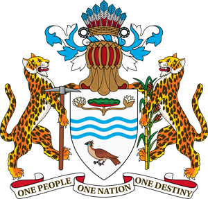 Coat of arms of Guyana Logo Vector