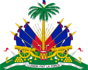 COAT OF ARMS OF HAITI Logo Vector