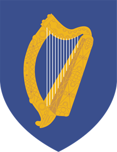 COAT OF ARMS OF IRELAND Logo Vector