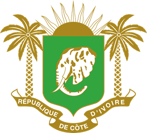 Coat of arms of Ivory Coast Logo Vector