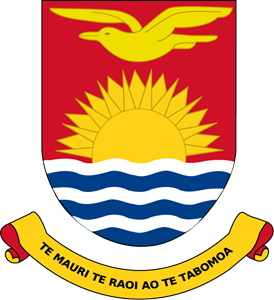 Coat of arms of Kiribati Logo Vector