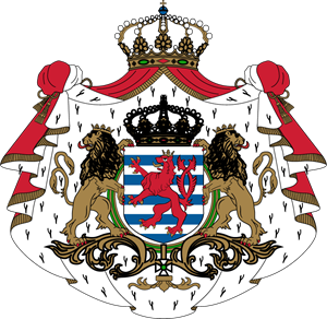 Coat of arms of Luxembourg Logo Vector