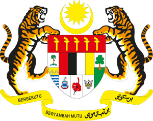 Coat of arms of Malaysia Logo Vector