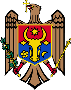 Coat of arms of Moldova Logo Vector