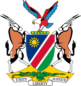 Coat of arms of Namibia Logo Vector