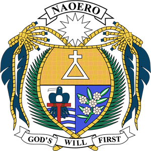 Coat of arms of Nauru Logo Vector