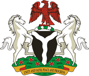 Coat of arms of Nigeria Logo Vector