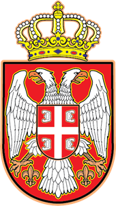 Coat of arms of Republic of Serbia Logo Vector