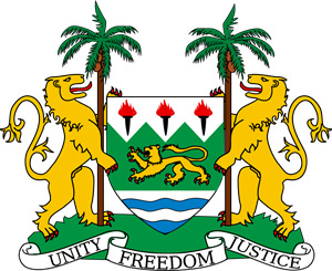 Coat of arms of Sierra Leone Logo Vector