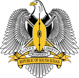 Coat of arms of South Sudan Logo Vector