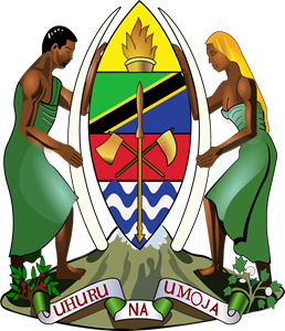 Coat of arms of Tanzania Logo Vector