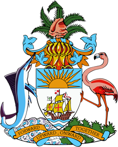 Coat of arms of the Bahamas Logo Vector