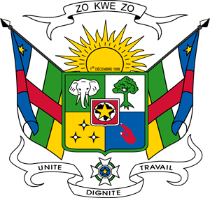 Coat of arms of the Central African Republic Logo Vector