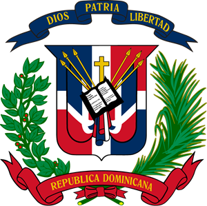 Coat of arms of the Dominican Logo Vector