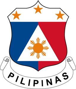 Coat of arms of the Philippines Logo Vector