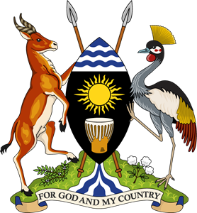 Coat of arms of the Republic of Uganda Logo Vector