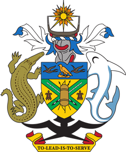 Coat of arms of the Solomon Islands Logo Vector