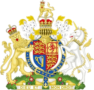 Coat of Arms of the United Kingdom Logo Vector