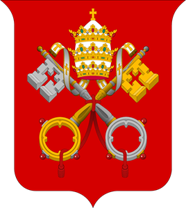 Coat of arms of the Vatican Logo Vector