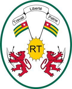 Coat of arms of Togo Logo Vector