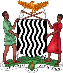 Coat of Arms of Zambia Logo Vector