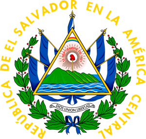 Coats of arms of El Salvador Logo Vector